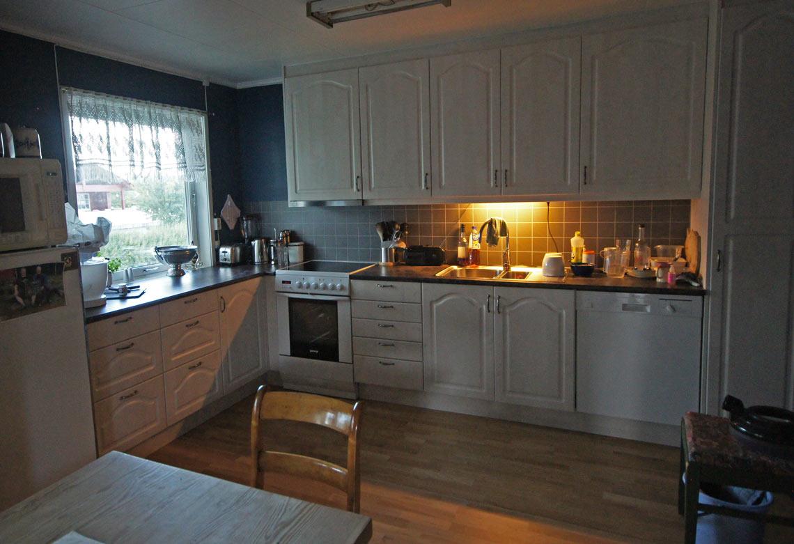 Kjøkkeninspirasjon: Familien Fjelds kjøkken etter renovering
