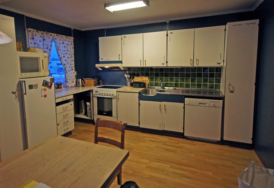 Kjøkkeninspirasjon: Familien Fjelds kjøkken før renovering